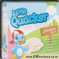 Little Quacker Baby Biscuits Strawberry