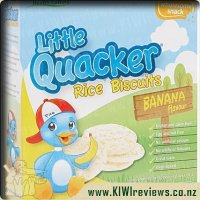 Little Quacker Baby Biscuits Banana