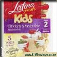 Kids Chicken & Vegetable Mini Ravioli 225gm