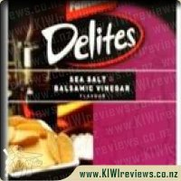 Delites Sea Salt & Balsamic Vinegar