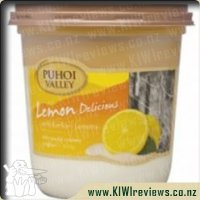 Puhoi Valley Lemon Delicious Yoghurt