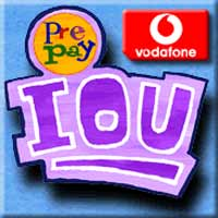 $2 Prepay IOU top-up