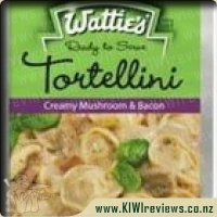 Ready To Serve: Mushroom & Bacon Tortellini