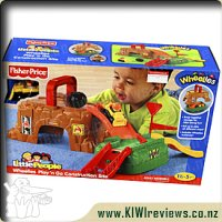 Little People Wheelies Construction Playset