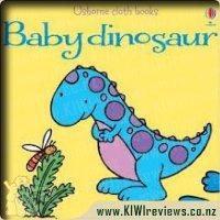 UsbourneClothBooksBabyDinosaur