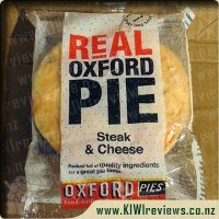 Oxford Steak & Cheese pie