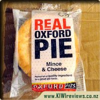 Oxford Mince & Cheese pie