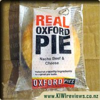 Oxford Nacho Beef & Cheese pie
