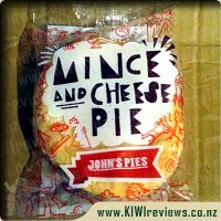 John's Mince & Cheese pie