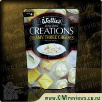 Italian Creations: Creamy Three Cheeses