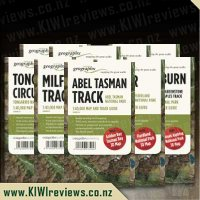 Great Walks of New Zealand map series