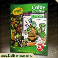 TMNT Color & Sticker Pack