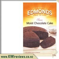 Edmonds Moist Chocolate Cake
