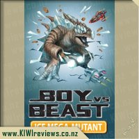 Boy vs Beast - Ice Mega-Mutant
