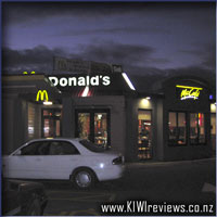 McDonalds Family Restaurant & McCafe