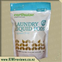 Earthwise Laundry Liquid Pods - Fragrance Free