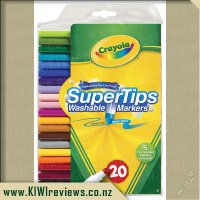 Crayola SuperTips Washable Markers - 20 pack