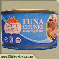 Pacific Crown Tuna Chunks in Spring Water