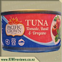 Pacific Crown Tuna - Tomato, Basil & Oregano