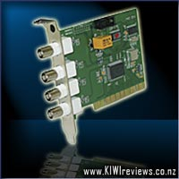 PC DVR 4 NET : 4-port PCI Security Card