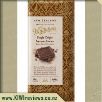 Whittakers Samoan Extra Dark Chocolate