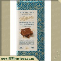 Whittakers Marlborough Sea Salt and Caramel Brittle Chocolate