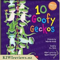 10 Goofy Geckos (with CD)