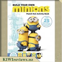 Build Your Own Minions Punch-Out Activity Book
