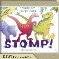 Stomp! Board Book