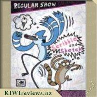 Regular Show Scribble and Sketch