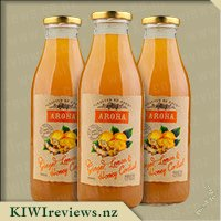Aroha Ginger and Honey Cordial with Lemon