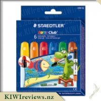 Staedtler Noris Club Basic Gel Crayons 6-pack