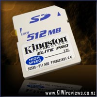 Kingston 512mb Elite Pro SD-card