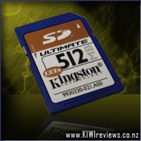 Kingston 512mb Ultimate SD-card