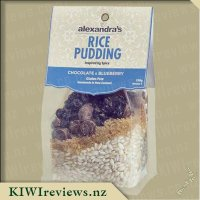 Alexandra's Rice Pudding - Chocolate and Blueberry