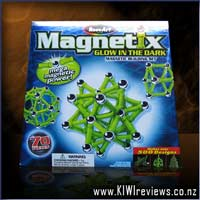 Magnetix - 70pc Glow-in-the-Dark set