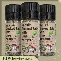 Manuka Smoked Salt with Lime Horopito