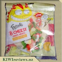Farrah's Wraps - Cheesy snack wraps