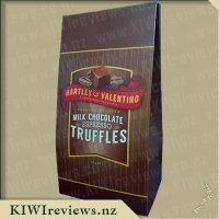 Hartley & Valentino Premium Belgian Milk Chocolate Espresso Truffles
