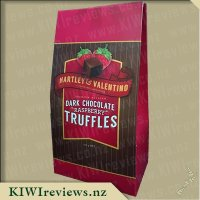 Hartley & Valentino Premium Belgian Dark Chocolate Raspberry Truffles