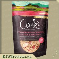 Cecile'sCreativeKitchenStrawberriesandCashewswithSeedsandFineOats