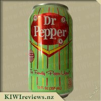 Dr Pepper - Made wiith real sugar cane