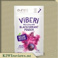 ViBERi New Zealand Organic Blackcurrant Powder