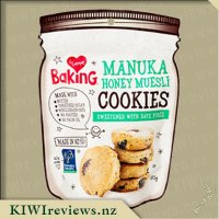 I Love Baking - Manuka Honey Muesli Cookies