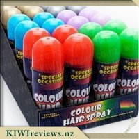 Coloured Hair Spray