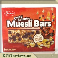 Choc Chippies Muesli Bar