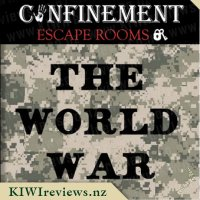 Confinement Escape Rooms - The World War Room