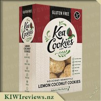 Kea Cookies - Delicious Homestyle Lemon Coconut Cookies