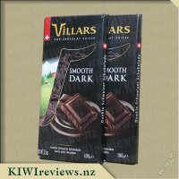 Villars Classic Swiss Smooth Dark Chocolate Bar