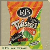 RJ's Sour Twisters - Citrus
